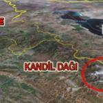 Operasyon bölgesi Kandil nerede? Kandil'in harita üzerindeki konumu...