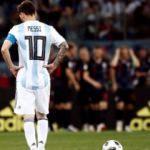 Messi'li Arjantin dağıldı! Hırvatlardan ağır darbe