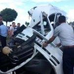 Trabzon'da feci kaza! Yaralılar var