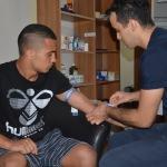Denizlisporlu oyuncular sağlık kontrolünden geçti