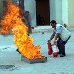 Kadirli Devlet Hastanesi'nde yangın tatbikatı