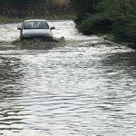 Karabük'te sağanak ve dolu su baskınlarına neden oldu