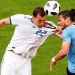 Uruguay ev sahibini ezdi geçti!