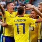 İsveç liderliği 3 golle kaptı!