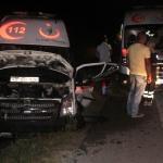 Kocaeli'de ambulansla motosiklet çarpıştı: 1 yaralı