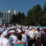 Bolu'da gıda işçilerinden grev