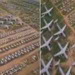ABD'nin Arizona'da bulunan uçak mezarlığı
