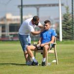 Alanyasporlu futbolcular testten geçti