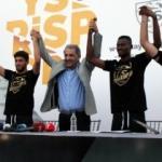 Kayserispor yeni transferlerini taraftara tanıttı