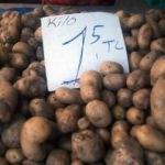 Patates ve soğanın ateşi düştü!