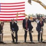 Trump istedi Foxconn temelleri atıldı!