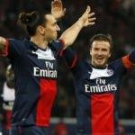 Zlatan ile Beckham tarihi maç için iddiaya girdi