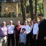 Davutoğlu ve Babacan'dan Hadim'e ziyaret