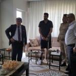 Kaymakam Tortop'tan Afrin gazisine ziyaret