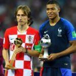 Modric ve MBappe'ye büyük onur!
