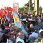 Başkan Erdoğan'a KKTC'de sevgi gösterisi