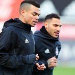 Beşiktaş'ta Quaresma ve Pepe'den kötü haber!
