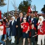 Köprüdeki yürüyüşe Erdoğan da katılacak!
