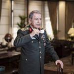 Özel karelerle Milli Savunma Bakanı Hulusi Akar