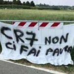 Ronaldo'ya pankart! 'Korkutmuyor...'