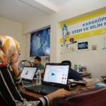 Gençlerden kodlama ve robotik tasarlama kursuna ilgi