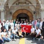 Yabancı öğrenciler Türkçe yaz okulu için Sivas'ta buluştu