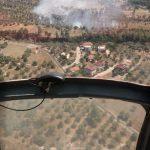 Muğla'da ziraat alanında yangın