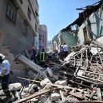 GÜNCELLEME 2 - Mersin'de kullanılmayan bir bina çöktü