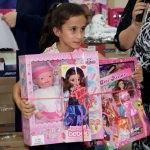 Sivas'ta 45 çocuk hayallerini süsleyen hediyelere kavuştu