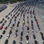 Bir günde 35 bin araç geçti! Akın akın geliyorlar