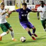 Bursaspor, Afjet Afyonspor'u mağlup etti