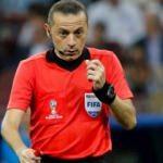 Cüneyt Çakır Arabistan'da Süper Kupa yönetecek