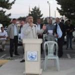 Sivas'ta hacı adayları kutsal topraklara uğurlandı