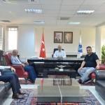 SAÜ Rektörü Prof. Dr. Savaşan'a ziyaret