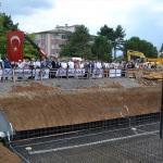 Leyla Dizdar Kültür Merkezinin temeli atıldı