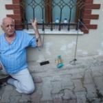 Akşener'in evinin önünde trajikomik görüntüler!