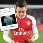 Arsenal'den Mesut Özil'e büyük jest!