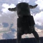 Bordo berelilerin paraşüt eğitimi nefes kesti