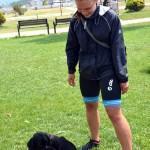 Avusturyalı gezgin kaybettiği köpeğine kavuştu