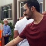 Katar Emiri'nin kardeşi Sivas'ta fabrika inceledi!