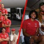Mesut Özil'li Arsenal Singapur'a gitti