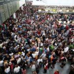 Münih'te kaos! Kadın yolcu ortalığı karıştırdı