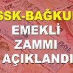 SSK ve Bağ-kur emeklilerine Temmuz ve Ocak ayı zammı açıklandı! Kaç lira zam..