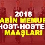 2018 Host - Hostes maaşları kaç TL? Kabin memuru maaşları...