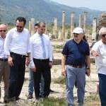 Aydın'da 2 bin yıllık 6 heykel bulunması