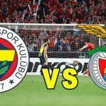 Fenerbahçe Benfica maçı ne zaman, saat kaçta ve hangi kanalda? Maç şifreli mi?