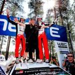 Toyota'dan Finlandiya Rallisi'nde zafer