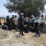 Çanakkale'de 45 düzensiz göçmen yakalandı