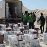 Dera ve Kuneytra'dan tahliye edilen ailelere insani yardım