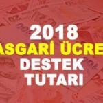Asgari ücrete destek tutarı kaç TL? 2018 Eylül AGİ dahil asgari ücret ne kadar?